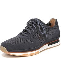 Vince - Men's Larson Peforated Suede Sneakers - Lyst
