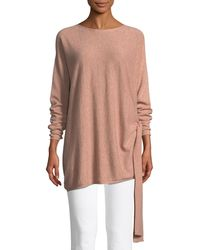Eileen Fisher - Cashmere Side-tie Tunic - Lyst