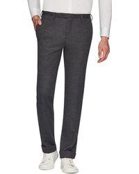 Zanella Josh Jersey Wool Slim Straight-leg Dress Pants - Gray
