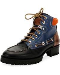 DSquared² - Multicolor Lace-up Ankle Boot - Lyst