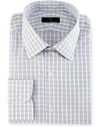 Ike Behar | Gold Label Check Dress Shirt | Lyst