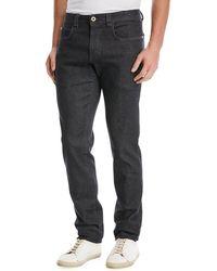 Loro Piana - 5-pocket Slim-fit Denim Jeans - Lyst