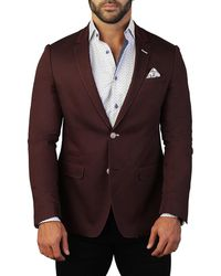 7faf9dfda Men's Socrates Textured Two-button Jacket