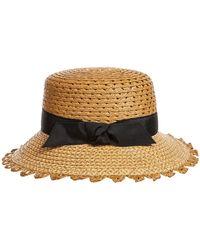 Eric Javits - Montauk Woven Sun Hat - Lyst