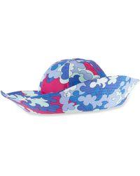 Emilio Pucci - Printed Beach Hat - Lyst a4697c858cd5