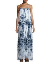 Tryb - Mariah Floral-print Maxi Dress - Lyst