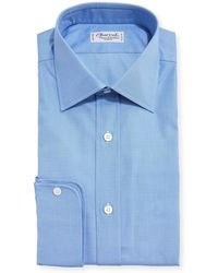 Charvet - Small Check Dress Shirt - Lyst