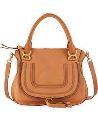Chloé   Marcie Medium Satchel Bag   Lyst