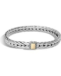 John Hardy - Men's Classic Chain Small Rectangle Bracelet - Lyst