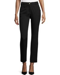 ESCADA - J501 Cropped Straight-leg Jeans - Lyst