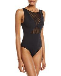Shan - Monika Open-back One-piece Swimsuit - Lyst