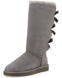 UGG - Bailey Tall Bow-back Boot - Lyst