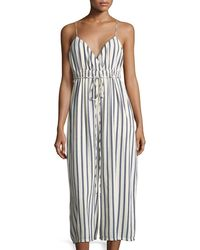Gypsy 05 - Sailor Stripe Cropped Wide-leg Jumper - Lyst