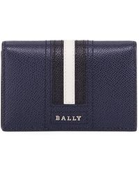 Bally - Tyke Leather Business Card Holder - Lyst