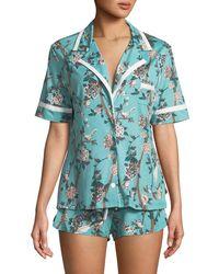 Cosabella - Bella Geometric-print Shorty Pajama Set - Lyst