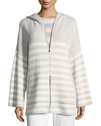 Loro Piana - Normandie Reversible Cashmere Hoodie Sweater - Lyst