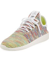 adidas - X Pharrell Williams Men's Hu Race Tennis Sneakers - Lyst