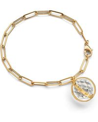 Monica Rich Kosann - Carpe Diem Charm Bracelet In 18k Yellow Gold - Lyst