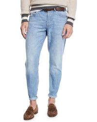 Brunello Cucinelli - Men's Super Lightweight Denim Jeans - Lyst
