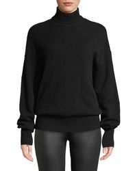 Theory - Cashmere Drop-shoulder Turtleneck Sweater - Lyst