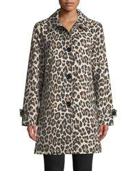 Kate Spade - Leopard Print Transitional Jacket - Lyst