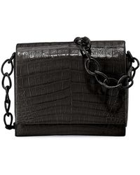 Nancy Gonzalez - Gio Crocodile Chain Cross-Body Bag - Lyst