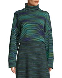 M Missoni - Chunky Space-dyed Turtleneck Sweater - Lyst