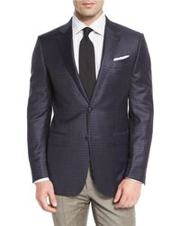 Ermenegildo Zegna | Check Two-button Sport Coat | Lyst