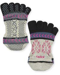 ToeSox - Moons Grip Full Toe Socks - Lyst