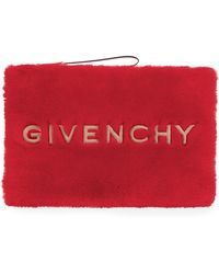 Givenchy - Gv3 Large Faux Pouch Wristlet - Lyst