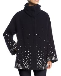 Loro Piana   Ralph Embroidered Cashmere Caban Coat   Lyst
