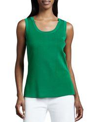 Misook - Amy Knit Tank Plus Size - Lyst