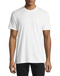 True Religion - Metallic Buddha T-shirt - Lyst