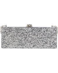 Edie Parker - Flavia Solid Frame Clutch Bag - Lyst