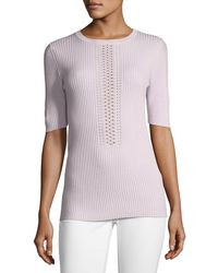 Elie Tahari | Karsten Half-sleeve Sweater | Lyst