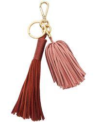 Altuzarra - Ghianda Suede Tassel Bag Charm/keyfob - Lyst