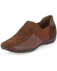 Sesto Meucci - Geneva Embossed Leather Slip-on - Lyst