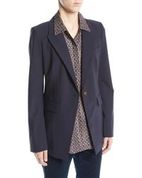 Lafayette 148 New York - Heather Emerging Wool-stretch Jacket - Lyst