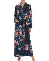 Jonquil - Floral-print Long Robe - Lyst