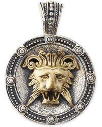 Konstantino | Men's Myrmidones Round Lion-face Pendant | Lyst
