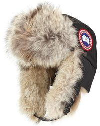 Canada Goose | Coyote-fur Aviator Hat | Lyst