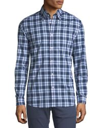 Ralph Lauren - Plaid Cotton Sport Shirt - Lyst