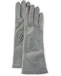 Portolano - Four-button Leather Gloves - Lyst