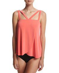 Magicsuit - Michelle Solid Tankini Swim Top - Lyst