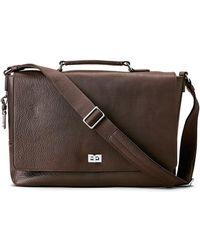Shinola - Men's Leather Flap-top Messenger Bag - Lyst