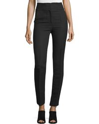 CoSTUME NATIONAL - High-waist Skinny Ankle Pants - Lyst