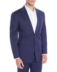Emporio Armani - Men's Two-piece Wool Broken-sharkskin Suit - Lyst