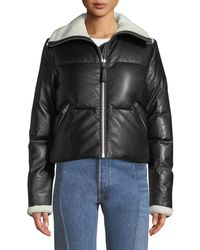 Mackage - Cammi Down-fill Leather Jacket - Lyst