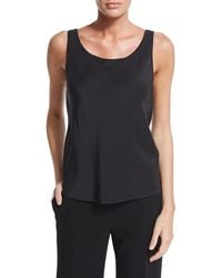 Lafayette 148 New York - Charmeuse Silk Bias Tank - Lyst