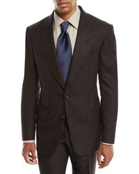 Tom Ford - Men's Overcheck Windsor Two-piece Suit - Lyst